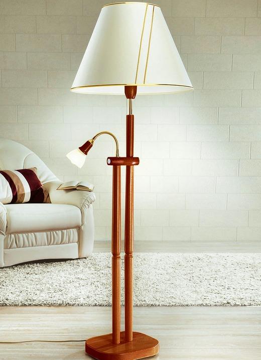 stehlampe mit leselampe verschiedene farben lampen leuchten brigitte st gallen. Black Bedroom Furniture Sets. Home Design Ideas
