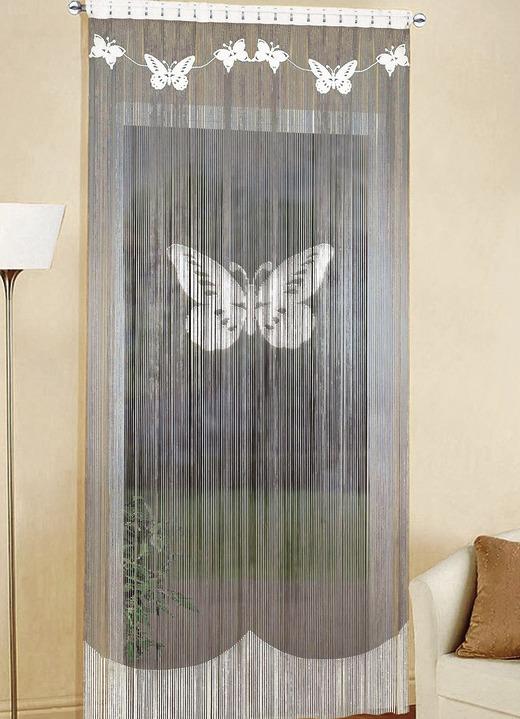 Faden Store Schmetterling Verschiedene Farben Vorhänge