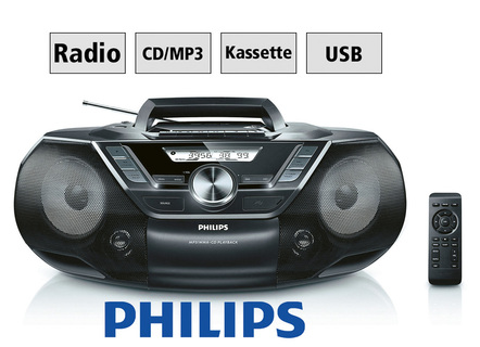 Philips AZ787 CD-/Kassetten-/Radio
