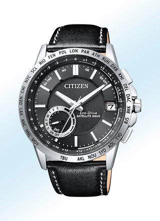 «Citizen»-Solar-Herrenuhr mit Satellite Timekeeping System