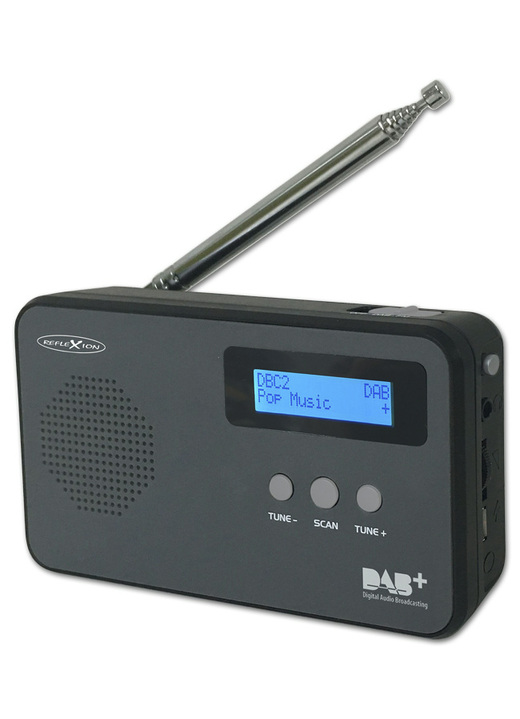Modern - «REFLEXION» TRA5001 dab+ Digitalradio, in Farbe ANTHRAZIT
