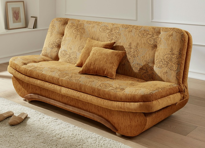 Klick Klack Sofa mit Bettkasten in verschiedenen Farben