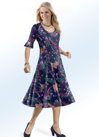 KLAUS MODELLE Kleid in Schlupfform