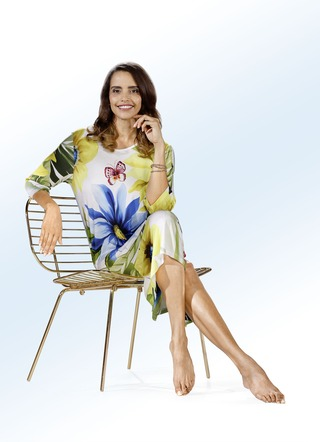 Hauskleid in Schlupfform