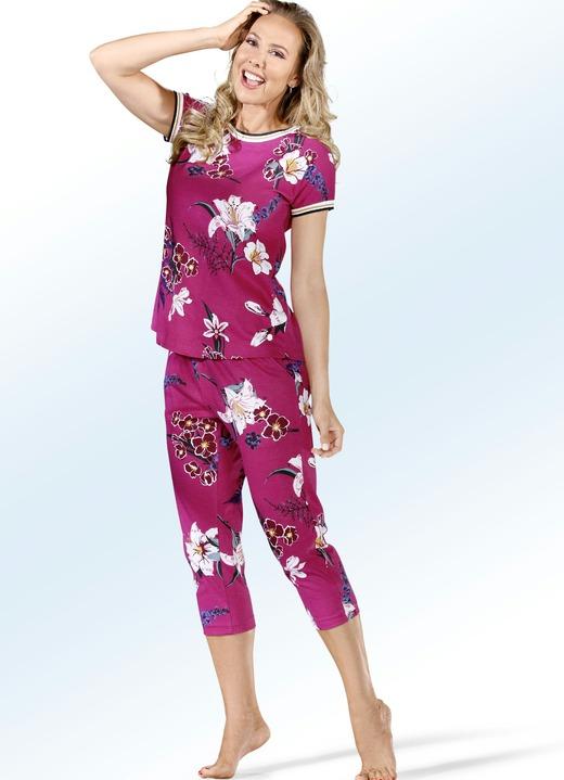 Pastunette Pyjama mit Rippbündchen und Taschen - Damen ...