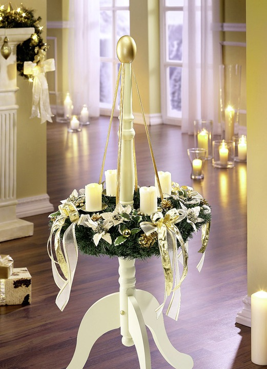 - Adventskranz, in Farbe GOLD