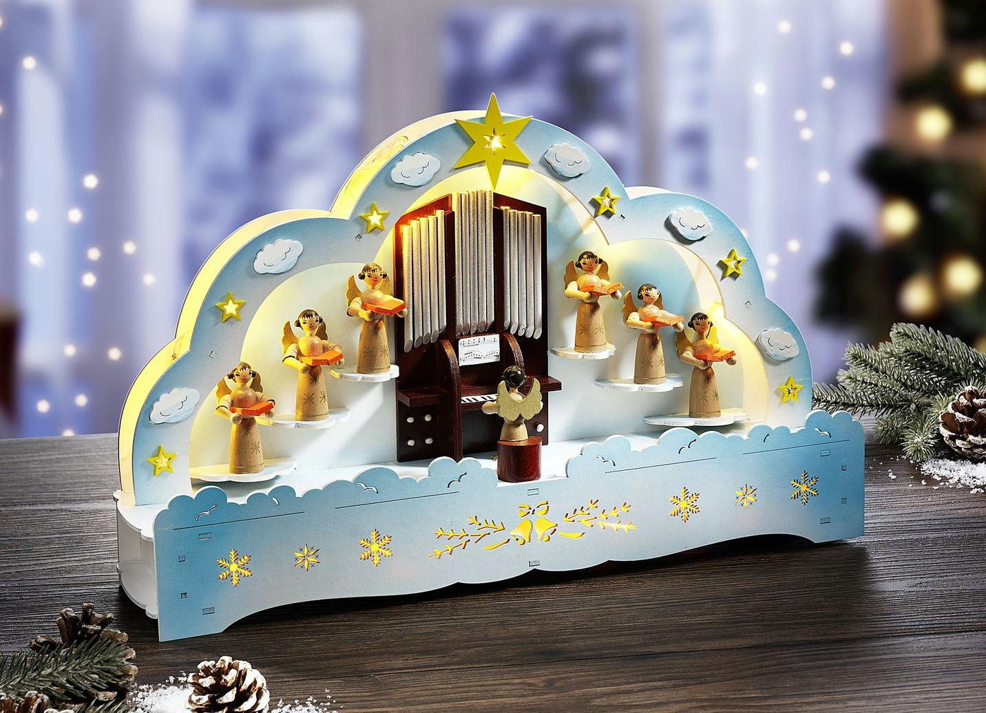 beleuchteter fensterbogen weihnachtliche dekorationen. Black Bedroom Furniture Sets. Home Design Ideas