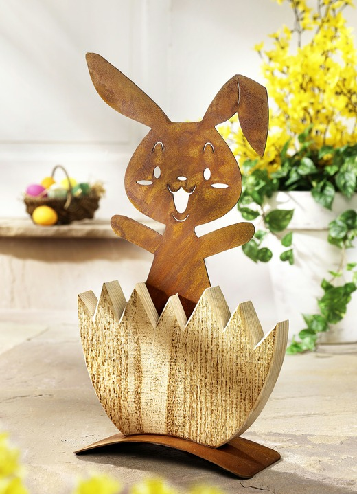 Ostern - Hase «Michl», in Farbe ROST
