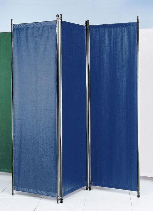 Paravent, 3-teilig in verschiedenen Farben