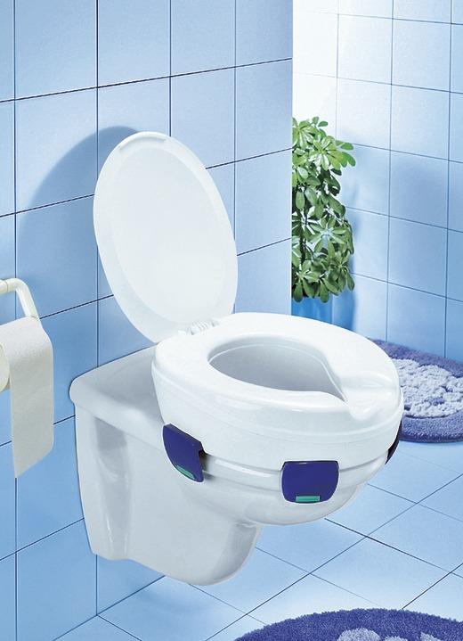 """Toilettensitzerhöher """"Clipper"""" mit Deckel"""