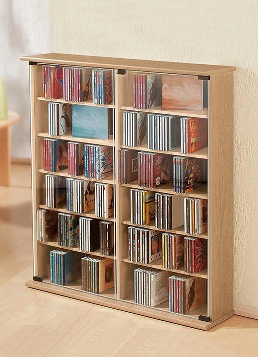 Vitrine für 300 CDs in veschiedenen Ausführungen