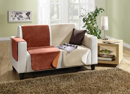 Hussen ecksofa  Sofaüberwurf & Co. | Wohntextilien für Ihre Sitzmöbel | Brigitte ...
