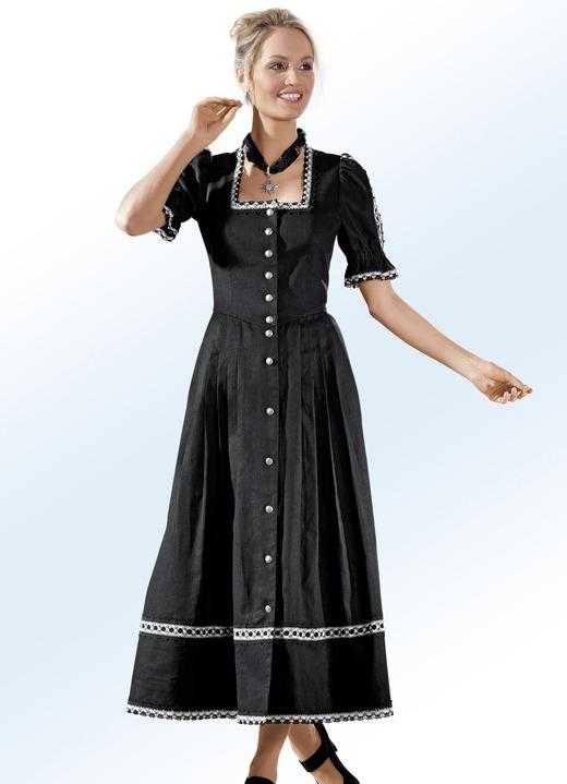 Image of Landhauskleid mit edler Klöppelspitzenzier