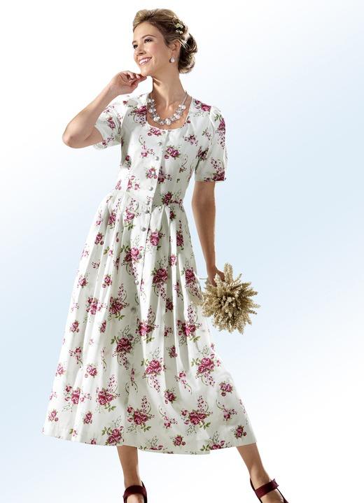 Image of Landhauskleid mit durchgehender Schmuckknopfleiste