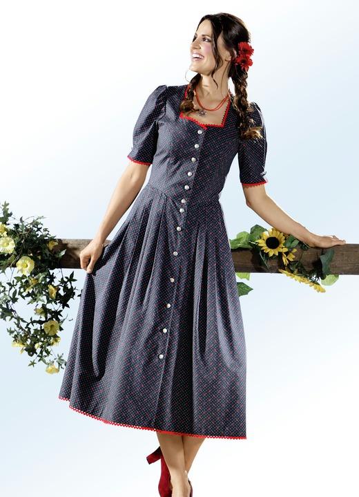 Image of Landhauskleid mit zauberhaftem Tupfen- und Floraldessin