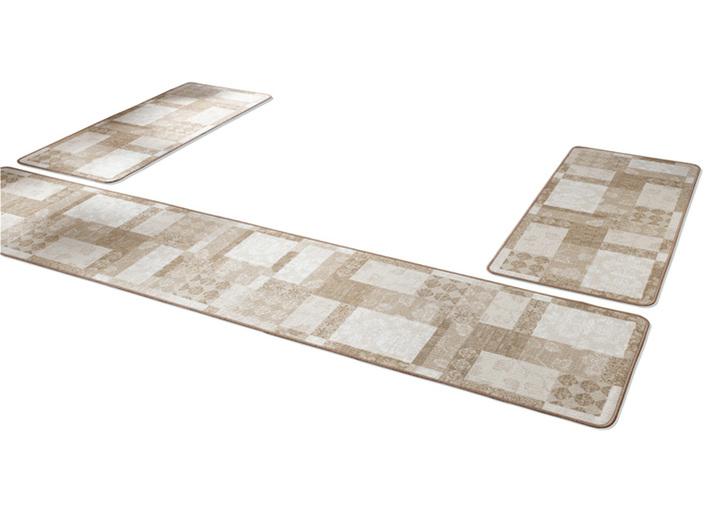 Image of Bettumrandung 3-teilig, In Patchwork-Design