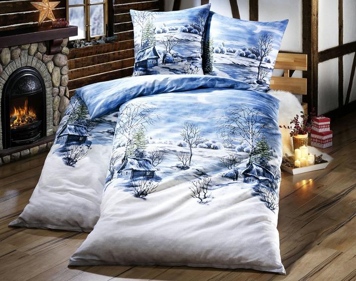 «DOBNIG» Bettwäsche-Garnitur in verschiedenen Farben