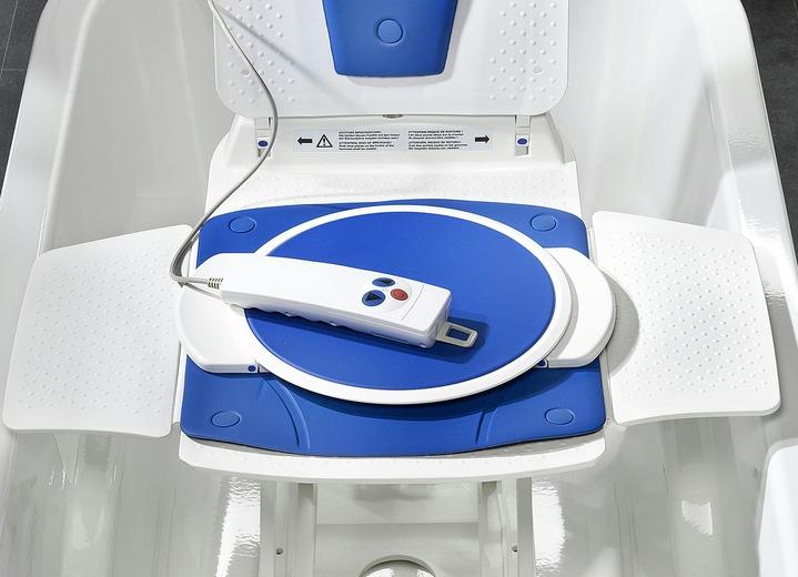 Dreh- und Übersetzhilfe für Badewannenlifter