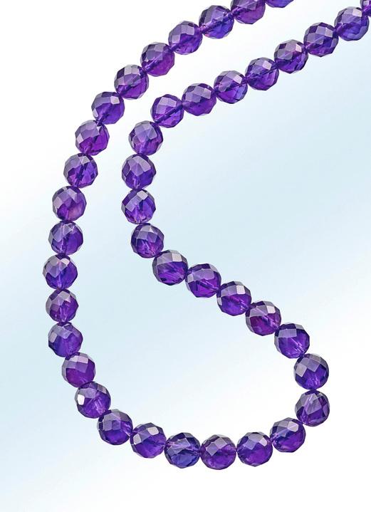 Image of Amethyst-Halskette in verschiedenen Längen