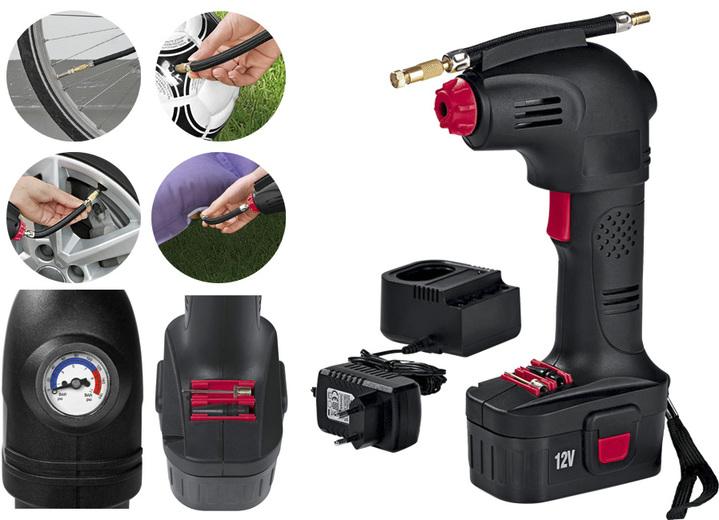 «EASYmaxx» Akku-Hand-Kompressor