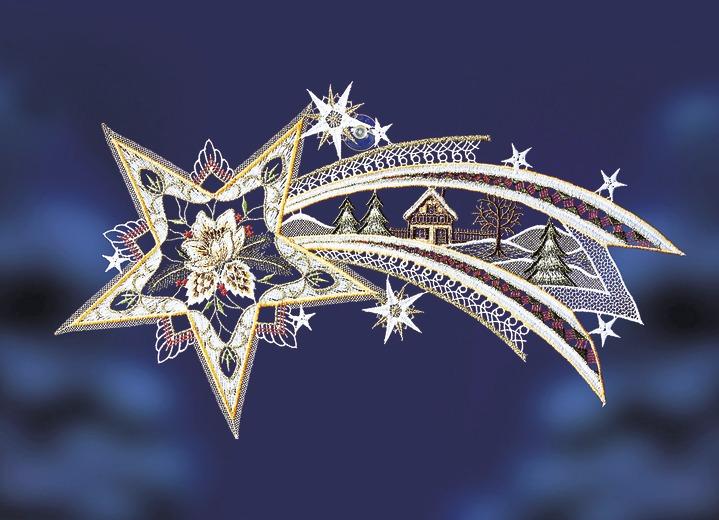 Fensterbild «Sternschnuppe»