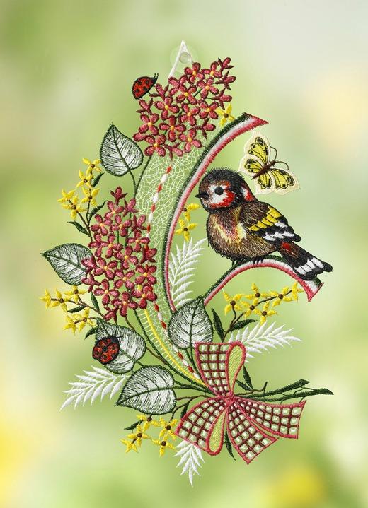Fensterbild «Vögelchen»
