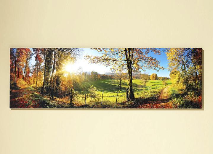 Bild mit dem Titel «Zauberhafte Landschaft im Herbst»