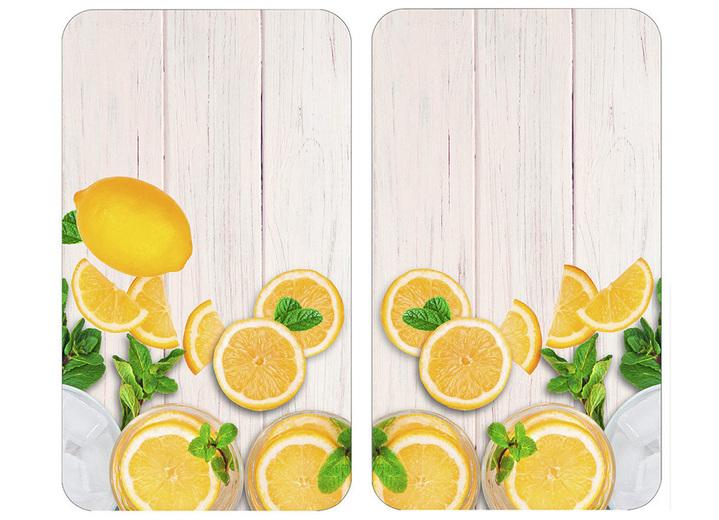 «WENKO» Herdabdeckplatte Zitrone